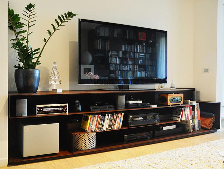 00 Studio Architetto Zanatta - Mobile Televisione MZ