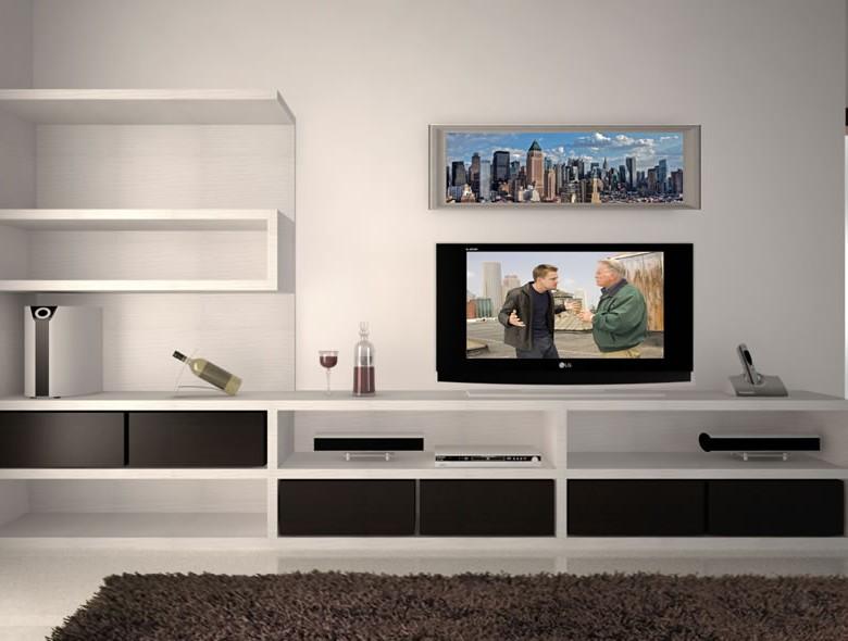 01 Studio Architetto Zanatta - Mobile televisione PA - Villorba Treviso