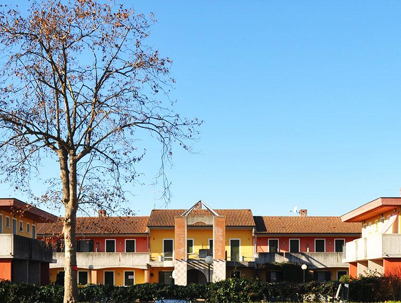 01 Studio Architetto Zanatta - Residence Multicolor - Villorba Treviso
