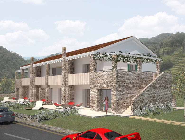 01 Studio Architetto Zanatta  - Residence classe A - Asolo Golf Club