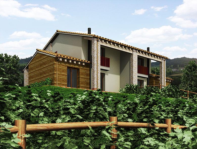 01 Studio Architetto Zanatta - Villa Bifamiliare - Asolo Golf Club