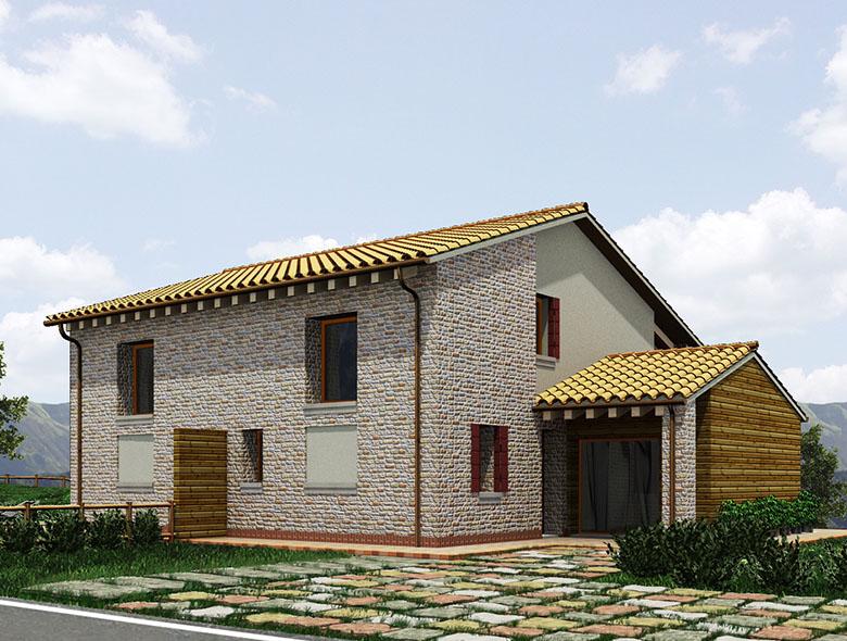 02 Studio Architetto Zanatta  - Villa Bifamiliare - Asolo Golf Club