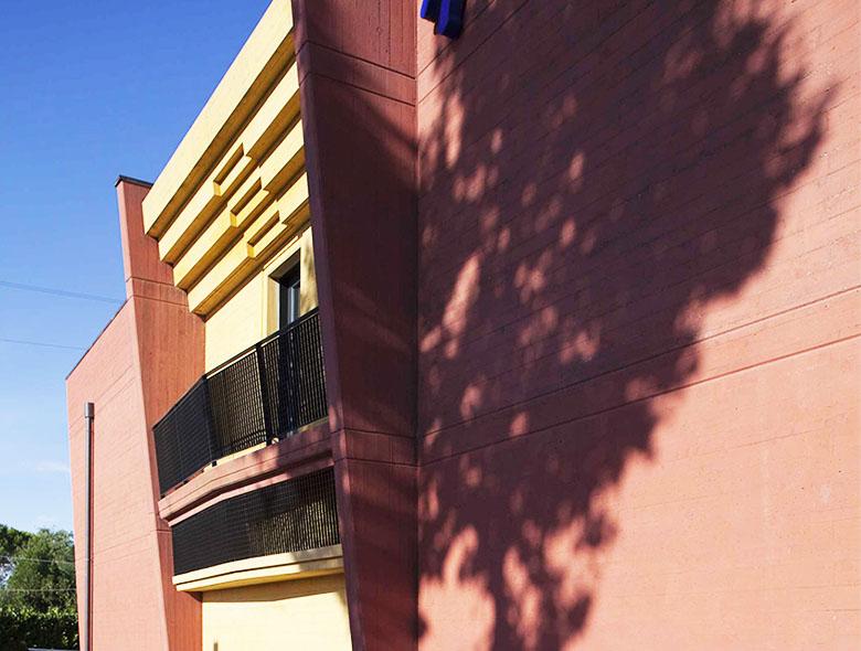 02 Studio Architettura Zanatta - Hotel Holiday La marca - Villorba - Treviso