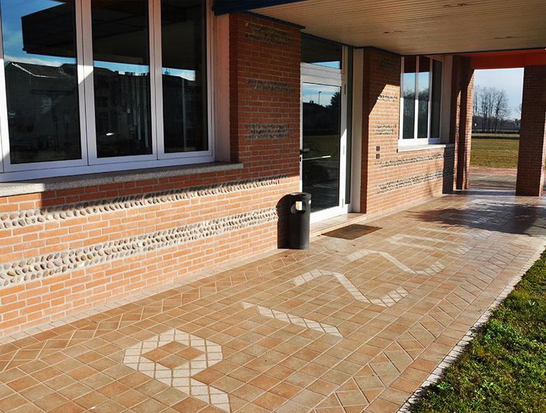 03 Studio Architettura Zanatta - Pizzolato Materiali edili Padiglione -  Villorba - Treviso