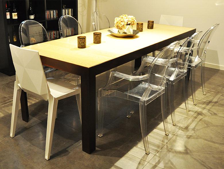 03 Studio Architettura Zanatta - Tavolo Corten Legno