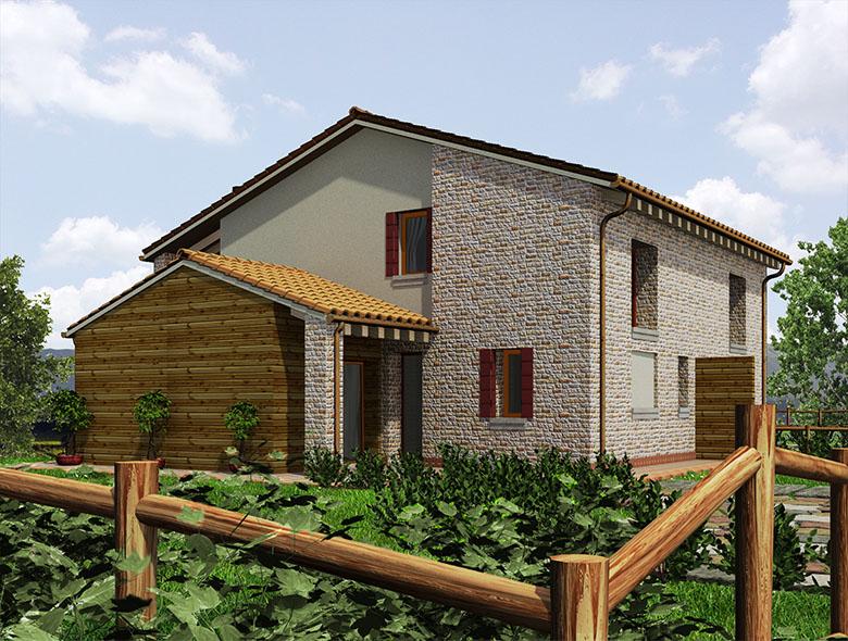 04 Studio Architetto Zanatta  - Villa Bifamiliare - Asolo Golf Club