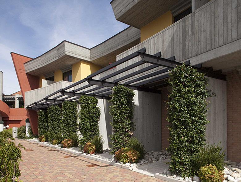 06 Studio Architettura Zanatta - Hotel Holiday La marca - Villorba - Treviso