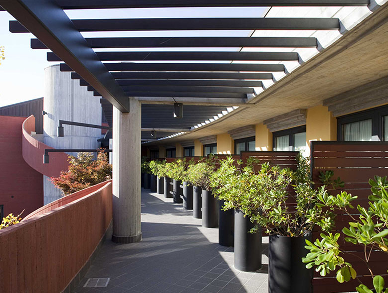 07 Studio Architettura Zanatta - Hotel Holiday La marca - Villorba - Treviso