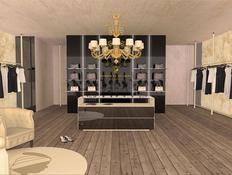 Studio Architetto Zanatta - Negozio abbigliamento Roberta Scarpa