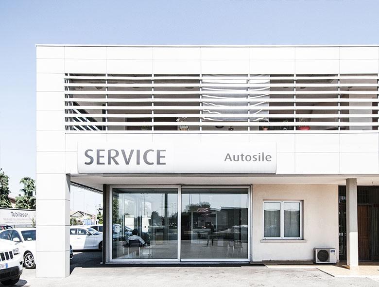 02 Studio Architettura Zanatta - Sede AUTOSILE SERVICE - VILLORBA - Treviso