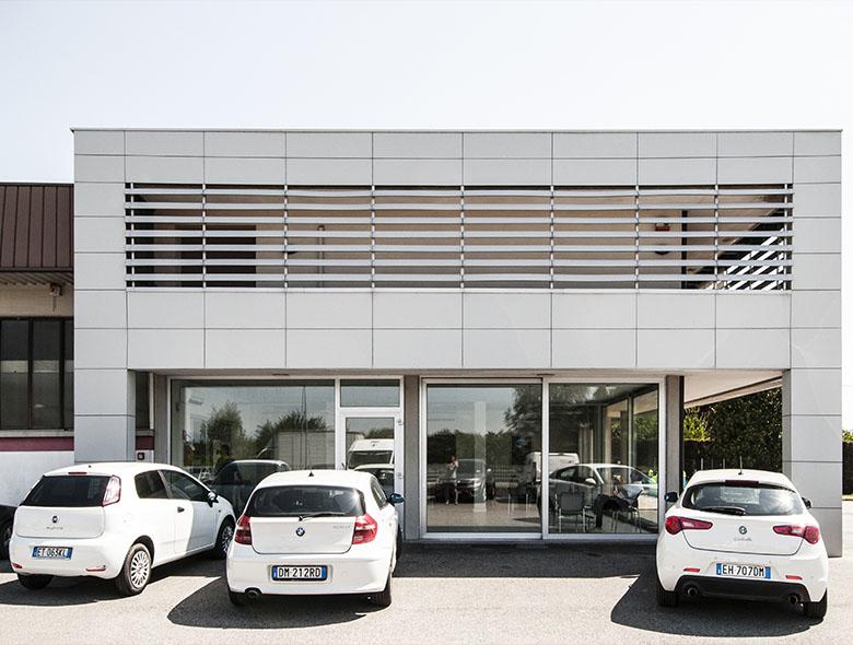 05 Studio Architettura Zanatta - Sede AUTOSILE SERVICE - VILLORBA - Treviso