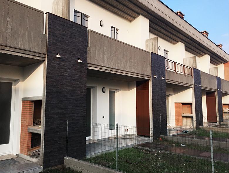 01 Studio Architetto Zanatta  - Residence Righetto - Case a Schiera-5
