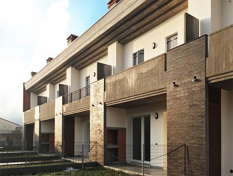 Studio architettura zanatta progettazione studio - Casa a schiera progetto ...