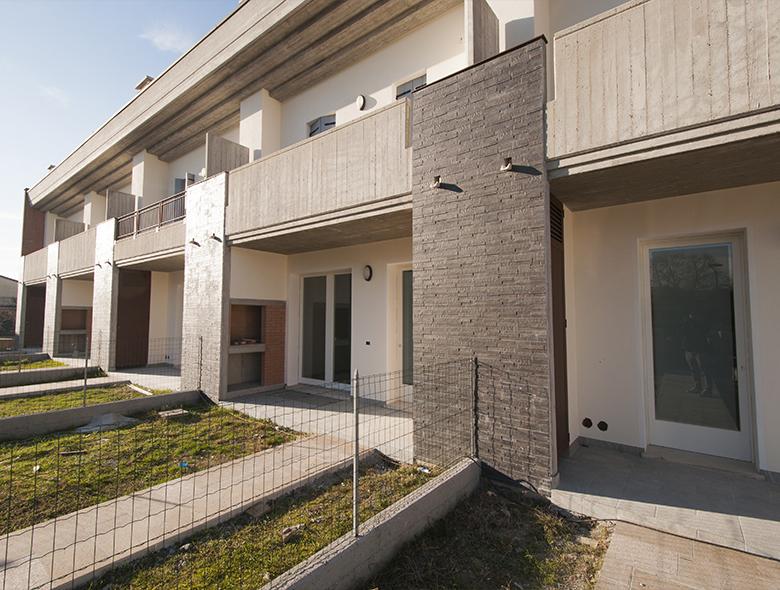 Progetti villette a schiera moderne render progetto le for Villette moderne progetti